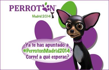 Perrotón Madrid 2014, corre con tu perro por una buena causa
