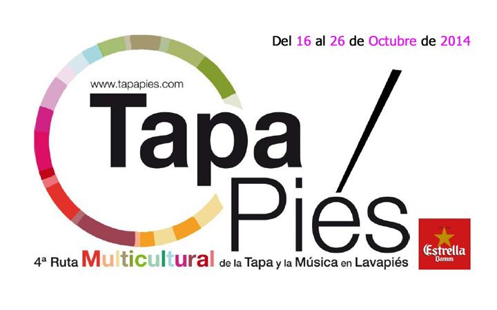 Tapapiés 2014, la cuarta Ruta Multicultural de la Tapa y Música de Lavapiés