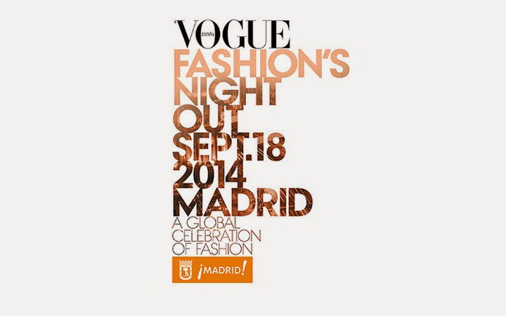 Vogue Fashion's Night Out 2014 Madrid