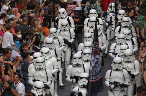 Una legión de tropas de Star Wars desfilará este sábado en El Retiro