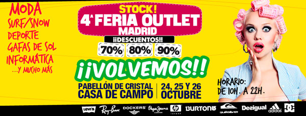 Stock Feria Outlet Madrid