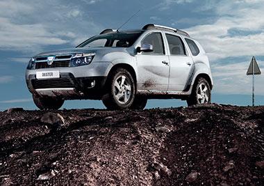 Escápate este otoño con Dacia Duster