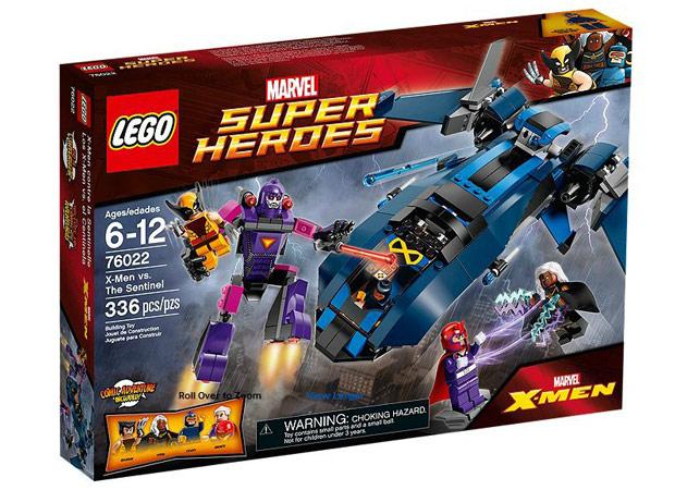 """Sorteamos un set de """"X-Men"""" de LEGO por el 75 aniversario de Marvel"""
