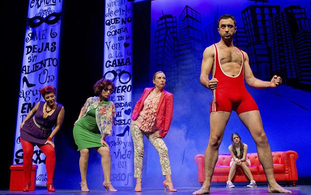 50 sombras! El musical, en el Teatro Nuevo Apolo hasta el 11 de enero 2015