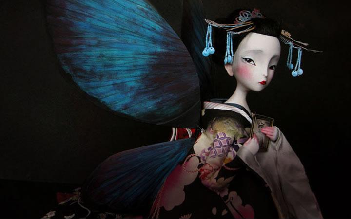 Exposición Madama Butterfly de Benjamin Lacombe en el Museo ABC