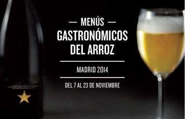 Menús Gastronómicos del Arroz Madrid 2014