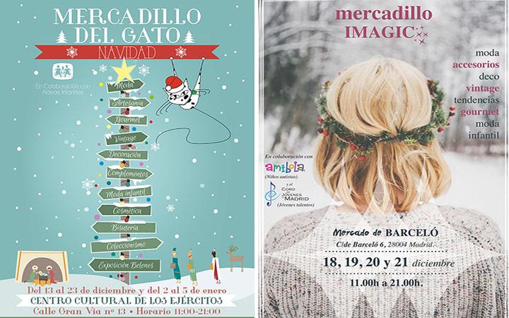Ferias y mercadillos de Navidad en Madrid 2014