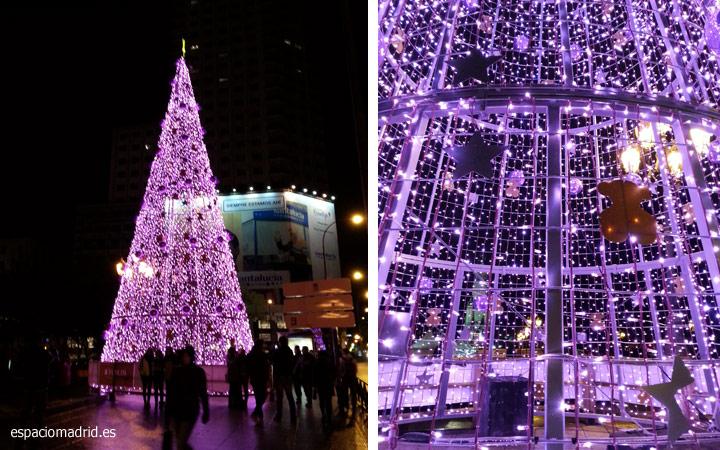 Luces de Navidad Madrid 2014