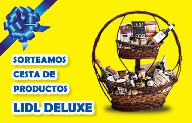 Sorteamos una cesta de productos LIDL Deluxe