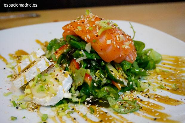 Maru, restaurante coreano y japonés junto a la Gran Vía