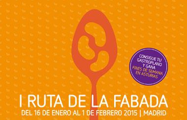 I Ruta de la Fabada en Madrid, del 16 de enero al 1 de febrero de 2015