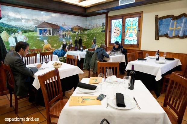 Restaurante Sidrería Carlos Tartiere, saborea Asturias en Madrid
