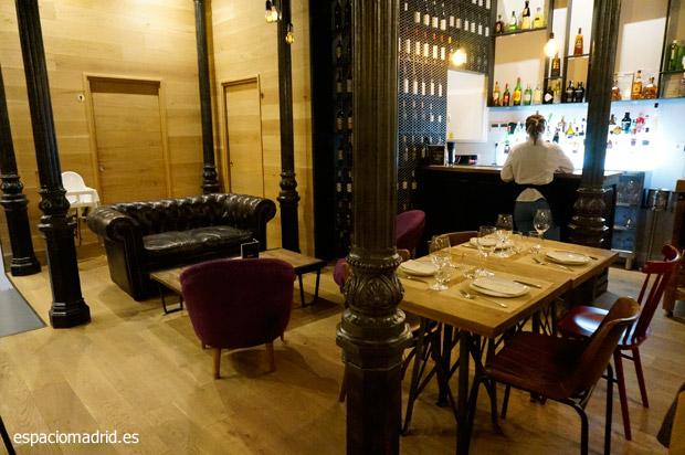 SERAFINA, cocina mediterránea en un espacio con encanto en la Puerta del Sol