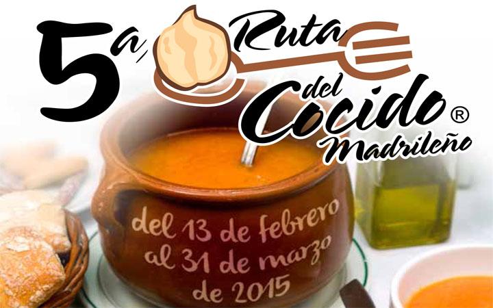 V Ruta del Cocido Madrileño, del 13 de febrero al 31 marzo 2015
