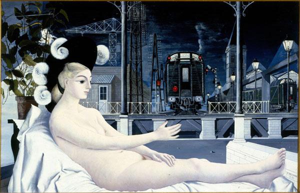 Exposición Paul Delvaux: paseo por el amor y la muerte, Museo Thyssen-Bornemisza