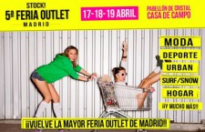 5ª Stock! Feria Outlet Madrid, del 17 al 19 de abril de 2015
