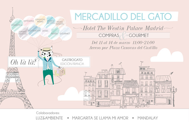 El Mercadillo del Gato se traslada al Hotel The Westin Palace de Madrid