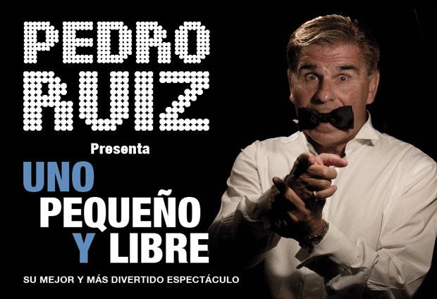 """Sorteamos entradas para """"Uno, Pequeño y Libre"""" de Pedro Ruiz en el Teatro Bellas Artes"""