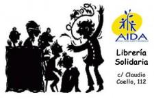 Cuentacuentos gratuito para Adultos en librería solidaria Aida Books&More