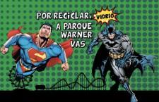 Gana entradas al Parque Warner Madrid por reciclar vidrio