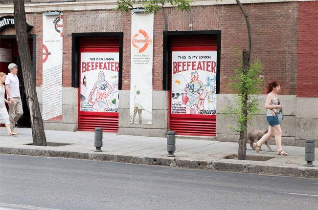 #BeefeaterStreetArt