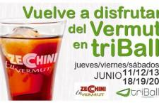II Feria del Vermut en triBall. 11, 12, 13, 18, 19 y 20 de junio de 2015