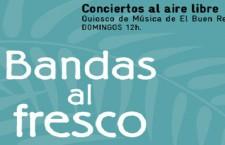 Bandas al fresco, conciertos gratuitos en el Quiosco de Música de El Retiro