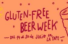Cerveza para celiacos en La Tape hasta el 20 de julio