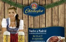 Madrid Oktoberfest 2015, del 24 al 27 de septiembre
