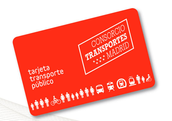 tarjeta transportes