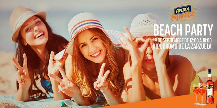 Aperol-Beach-Party