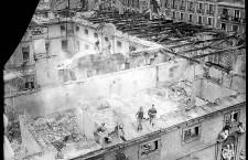 Incendio 1915. Foto Alfonso. Archivo General de la Administración (AGA)