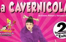Sorteamos entradas para La Cavernícola en el Pequeño Teatro Gran Vía