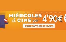 Miércoles al Cine desde 4,20€ hasta el 23 de septiembre 2015