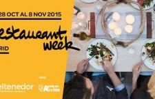 Restaurant Week Madrid 2015, menús de lujo por 25€ en más de 60 restaurantes