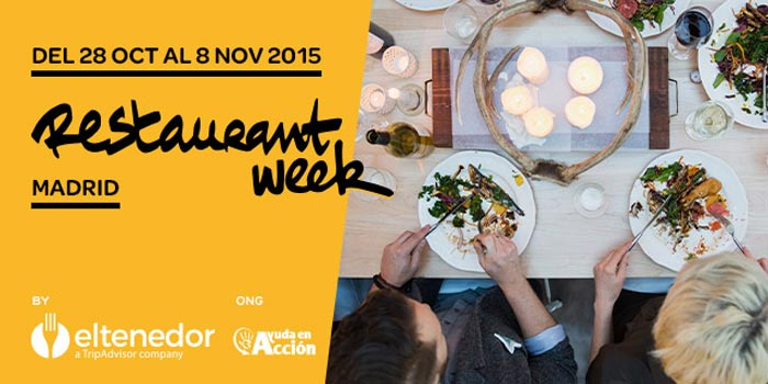 Restaurant Week Madrid