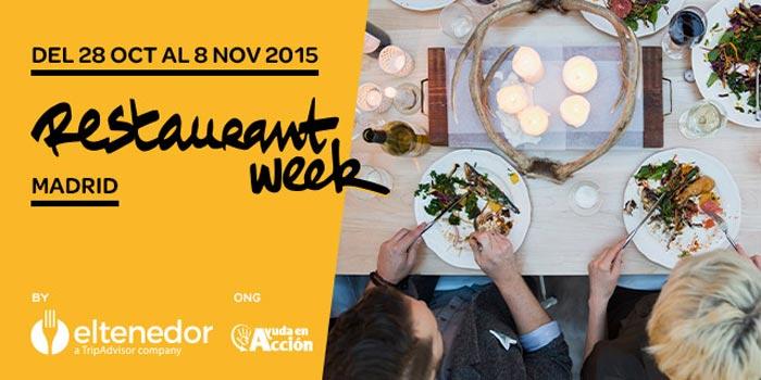 Restaurant Week Madrid