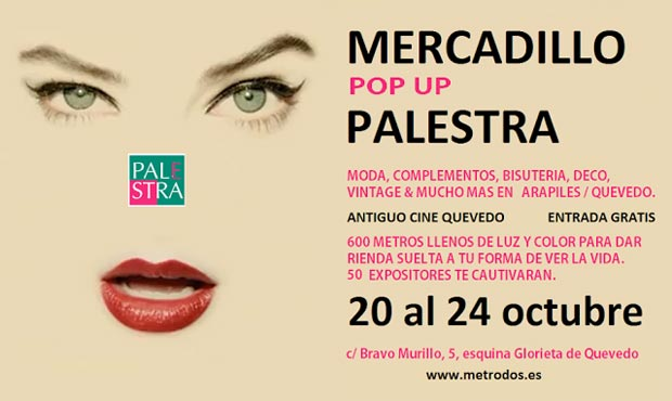 Mercadillo Pop Up Palestra