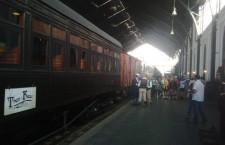 Nos subimos a bordo del Tren de la Fresa, plan interesante en familia