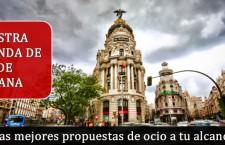 Agenda fin de semana en Madrid del 4 al 8 de Diciembre 2015