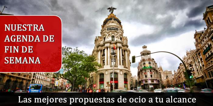 Agenda fin de semana Espacio Madrid