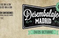 Regresa una nueva edición de Desembalaje de Madrid el 24 y 25 de octubre 2015