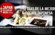 Japan Restaurant Week del 16 al 25 de octubre 2015