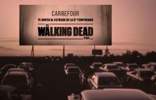 """Los Zombies de """"The Walking Dead"""" invaden el Carrefour de Alcobendas"""