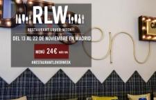 Restaurant Lover Week Madrid – Noviembre 2015