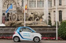 Madrid estrena servicio de alquiler de coches eléctricos con car2go