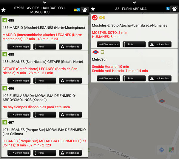 app transporte madrid