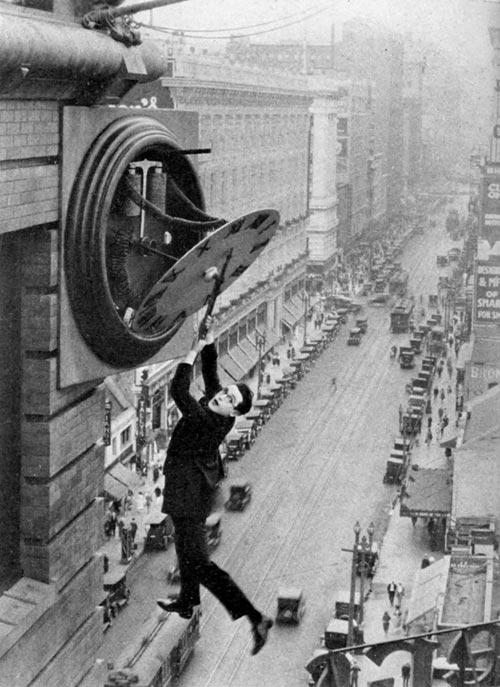 El hombre mosca - Harold Lloyd