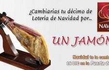 Navidul cambia hoy décimos de Lotería de Navidad por jamones en la Puerta del Sol