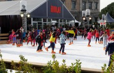 Pista de hielo en Plaza de Colón, del 5 de diciembre 2019 al 6 de enero 2020